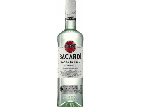 Купить Ром Bacardi Carta Blanca от 6 месяцев выдержки 0.7 л 40%