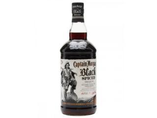 Купить Ромовый напиток Captain Morgan Spiced Black 0.7 л 40%