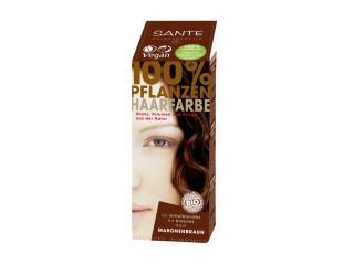 Купить Био-краска-порошок для волос Sante растительная Каштан/Chestnut Brown 100 г