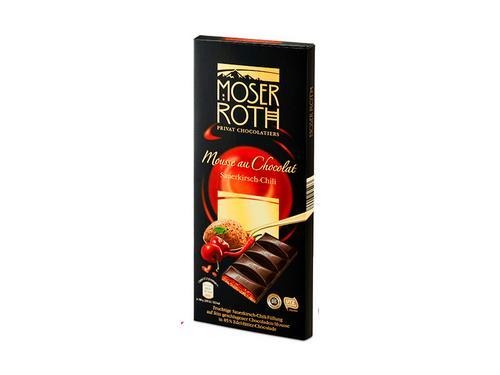 Купить Шоколад черный Moser Roth Chili