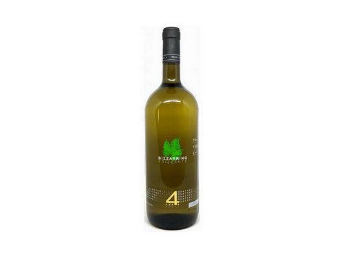 Купить Вино белое игристое сухое Quattro Valli Bizzarrino Frizzante 1,5 л Италия
