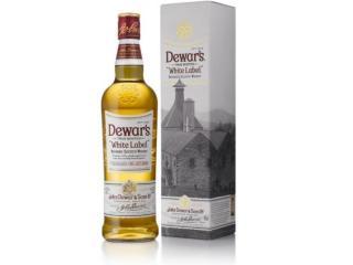 Купить Виски Dewar's White Label от 3 лет выдержки 1 л 40% в подарочной упаковке