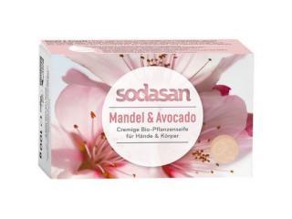 Купить SODASAN Органическое Мыло увлажняющее для лица Миндаль-Авокадо 100 г