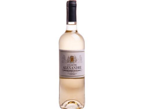 Купить Вино Comte Alexandre белое полусладкое 0.75 л 10.5%