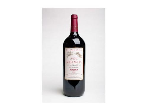 Купить Вино красное полусладкое Chateau des Mille Anges Mozart 2016