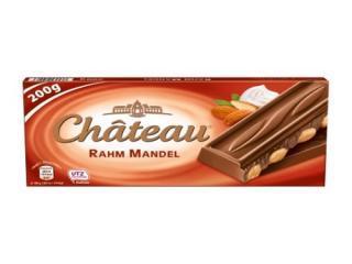 Купить CHATEAU молочный шоколад с мигдалем