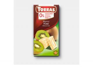 Купить БЕЛЫЙ ШОКОЛАД TORRAS с киви
