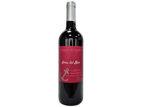Купить Вино Alma del Mar Cabernet Sauvignon красное сухое 0.75 л 12%