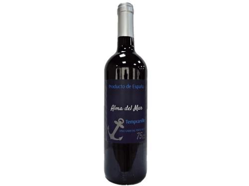 Купить Вино Alma del Mar Tempranillo красное сухое 0.75 л 12.5%