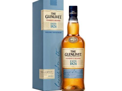 Купить Виски The Glenlivet Founder's Reserve 0.5 л 40% в подарочной упаковке