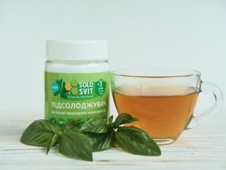 Купить Заменитель сахара Solosvit Stevia, в 5 раз слаще сахара