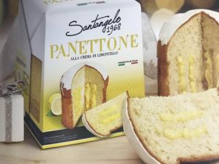 Купить Панеттоне Santangelo с лимонным кремом