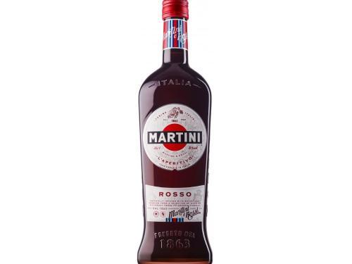 Купить Вермут Мартини Россо 15% 0,5*24