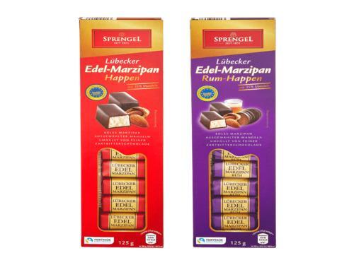 Купить Шоколад в стиках с марципановой начинкой в ассортименте