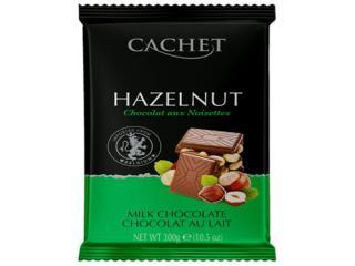Купить Шоколад Cachet молочный с фундуком