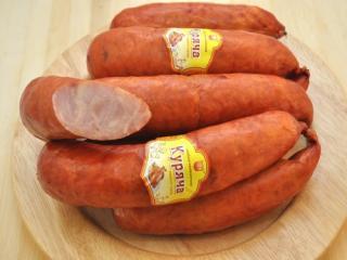 Купить Колбаса полукопченая куриная в череве