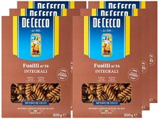Купить Паста Fusilli Integrali №34 (Фузилли Интеграли №34) TM De Cecco