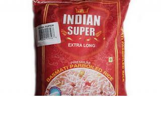Купить Рис индийский басмати пропаренный Indian Super Extra Long