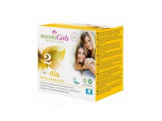 Купить Masmi прокладки GIRL ультратонкие гигиенические для подростков или для поглощения незначительных выделений, с крылышками, 12 шт. (размер 2)