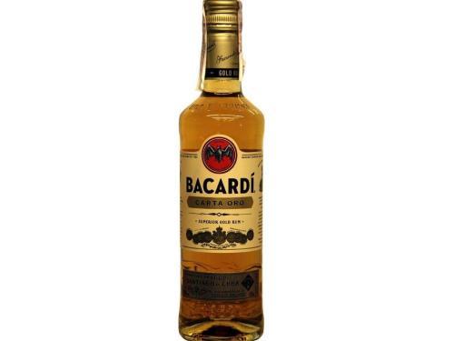 Купить Ром Bacardi Carta Oro от 2 лет выдержки 0.5 л 40%