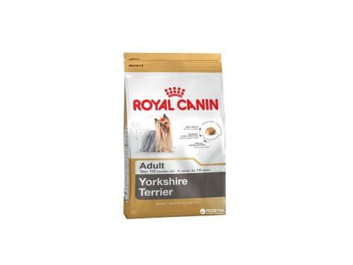 Купить Сухой корм Royal Canin Yorkshire Terrier Adult для взрослых собак старше 10 месяцев 1.5 кг