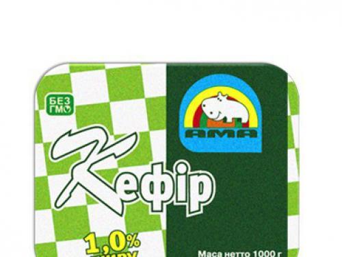 Купить Кефир, жирность 1%
