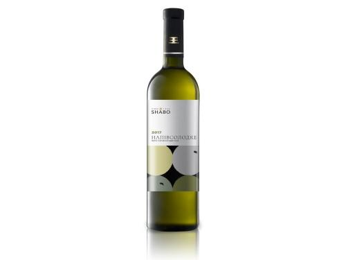 Купить Вино полусладкое белое Шабо 0.75л