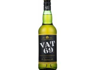 Купить Виски Vat 69 выдержка 3 года 1 л 40%