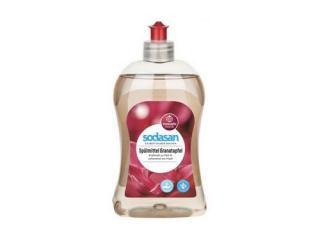 Купить SODASAN Органическое жидкое средство-концентрат Гранат для мытья посуды 0,5 л