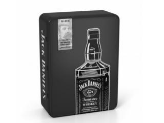 Купить Теннесси Виски Jack Daniel's 0.7 л 40% в металлической коробке с 2-мя бокалами