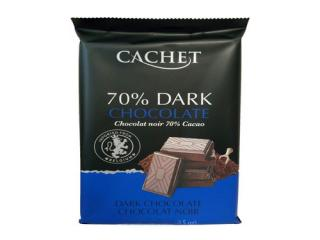 Купить Шоколад Cachet Extra dark chocolate 70% Cacao
