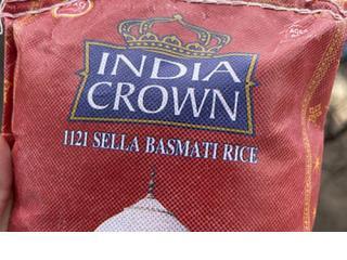Купить Рис индийский басмати INDIA CROWN
