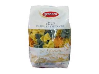 Купить Макароны Granoro Farfalle Tricolore