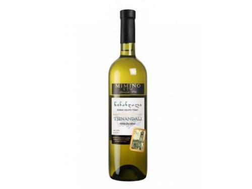 Купить Вино КТВ Цинандали белое сухое   0.75л