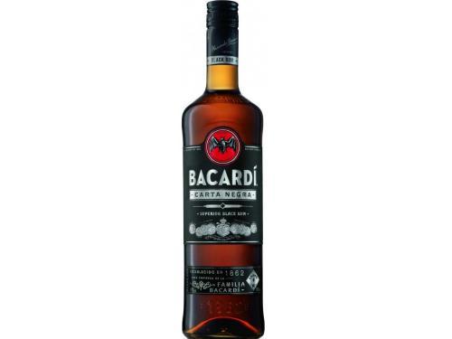 Купить Ром Bacardi Carta Negra 4 года выдержки 0.5 л 40%