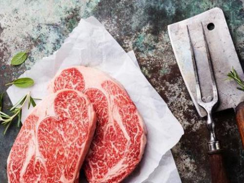 Купить Стейк Рибай из мраморной говядины без кости