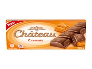 Купить Молочный шоколад с карамелью Chateau