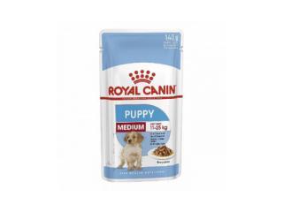 Купить Royal Canin Puppy Medium влажный корм в соусе для щенков средних пород