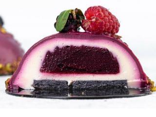 Купить Dairy-free cheesecake Малина-черника 130гр