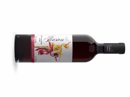 Купить Сухое столовое вино Иллюзия 2018