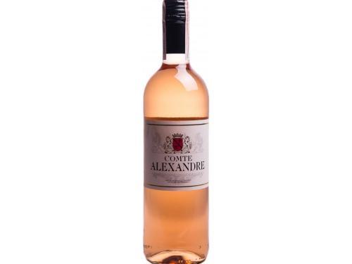 Купить Вино Comte Alexandre розовое сухое 0.75 л 10.5%