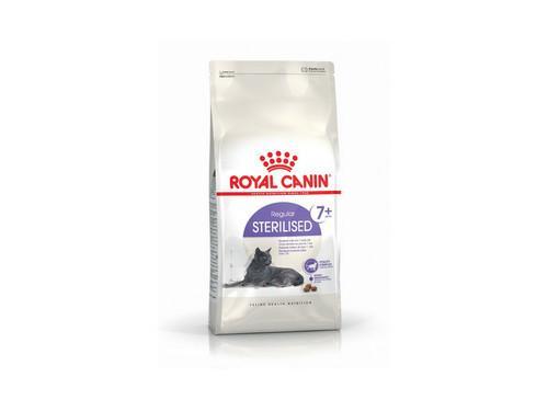 Купить Royal Canin Sterilised 7+ сухой корм для котов 400 гр