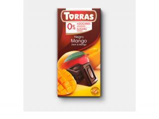 Купить ЧЕРНЫЙ ШОКОЛАД TORRAS с МАНГО