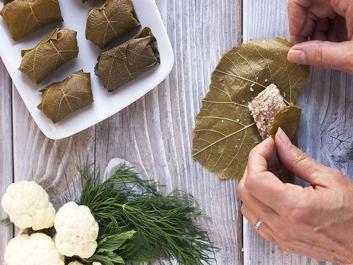 Купить Листья винограда соленые(для Долмы), 1 литр