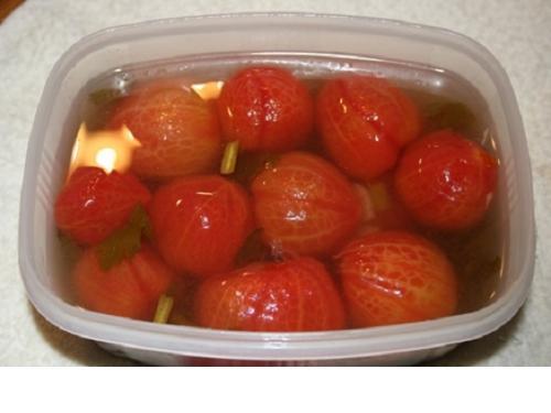 Купить Малосольные помидоры без шкурки