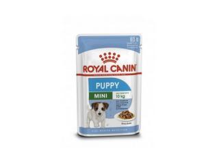 Купить Royal Canin Mini Puppy влажный корм для щенков мелких пород (кусочки в соусе)
