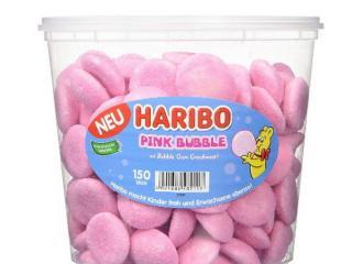 Купить Желейные конфеты Haribo Pink Bubble
