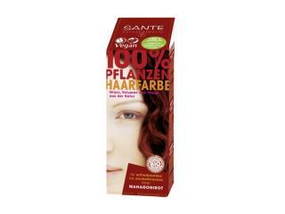 Купить Био-краска-порошок для волос Sante растительная Красное дерево/Mahagony Red 100 г