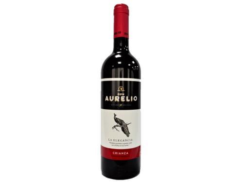 Купить Вино Don Aurelio Crianza D.O.P. Valdepenas красное сухое 0.75 л 13%