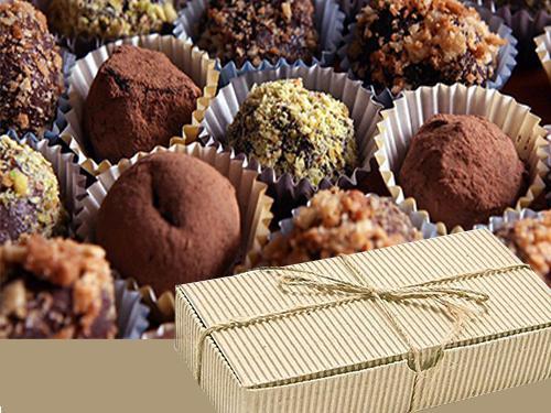 Купить Конфеты шоколадные трюфели ассорти